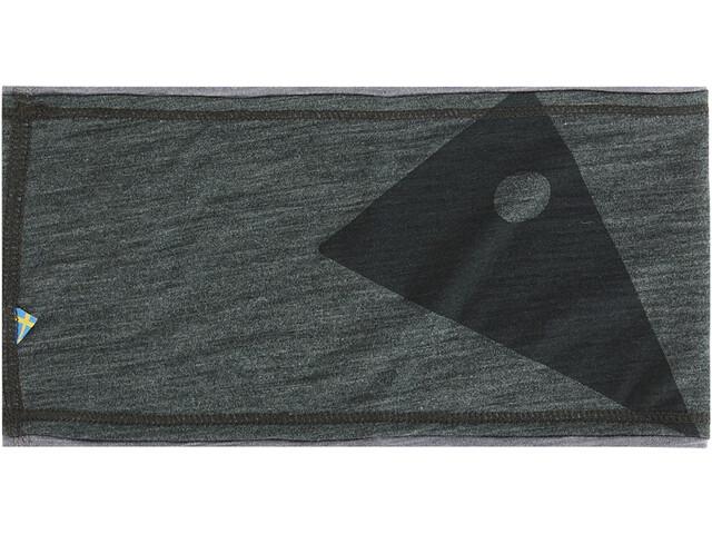 Klättermusen Eir Headband spruce green/grey melange